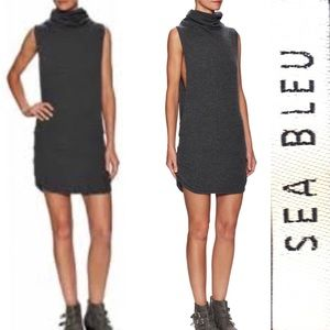 Sea Bleu 100% Cashmere Pullover Sweater Dress Sz.S